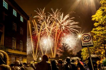 Fireworks in Norwich