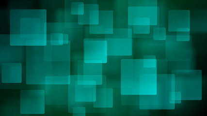Light blue abstract background of blurry squares