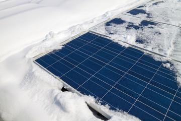 Photovoltaik snow
