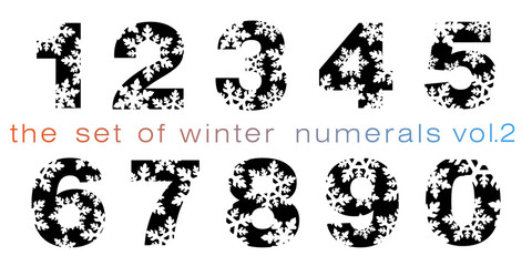 the set of winter numerals