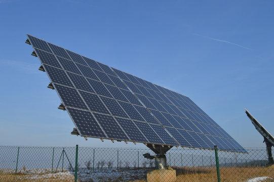 Nachführendes Solarpanel