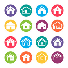 Home Icons Design Elements