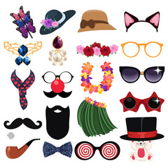 Fashion Accessories Design Elements