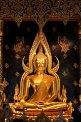 Large Buddha Statue in Phitsanulok, Thailand