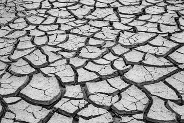 cracked clay ground, drought land background