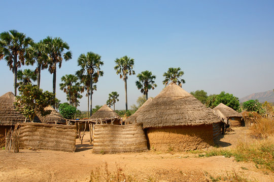 Traditional village in Cameroon