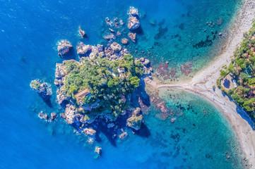 Island in Sicily