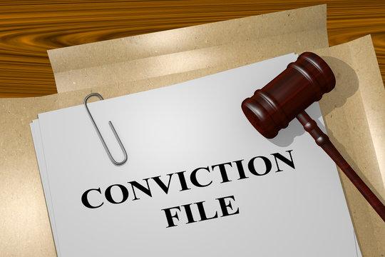Conviction File concept