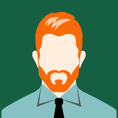 man with red beard
