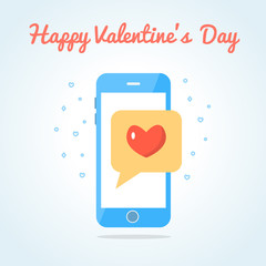 Smartphone with sealed love messege