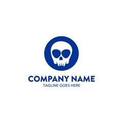 Skull Brand Logo