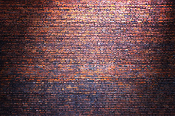 brick wall street background for design, texture of old brickwor