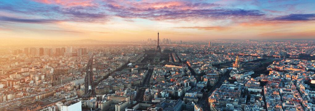 Paris skyline - panorama
