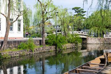 Yanagawa river canal