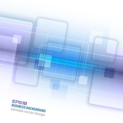 Abstract business vector background with square pattern.