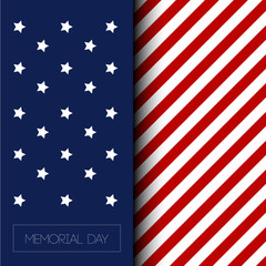 Memorial day illustration
