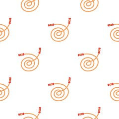 Skipping rope cartoon icon. Illustration for web and mobile design.