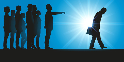 Licenciement - groupe - licencier - renvoi - entreprise - harcèlement