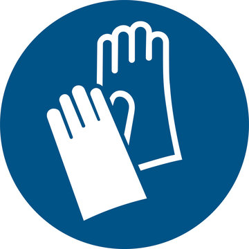 ISO 7010 M009 Wear protective gloves
