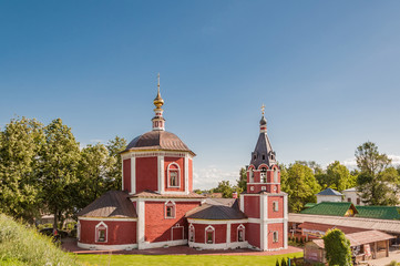 Church of the Dormition or Assumption Church - a church in the eastern part of the Suzdal Kremlin