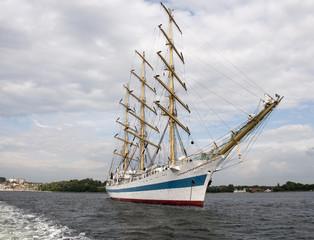 old Sailing ship in Baltic Sea