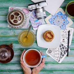 creative tea party
