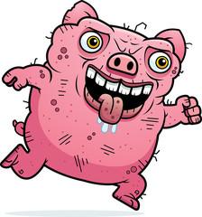 Ugly Pig Running
