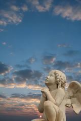 prière de l'ange au rayon de soleil