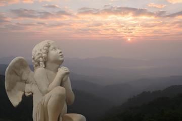 prière de l'ange au petit matin