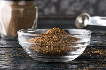 Garam masala in an ingredient bowl