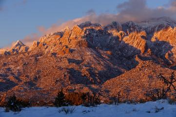 Sandia Mountains Sunset