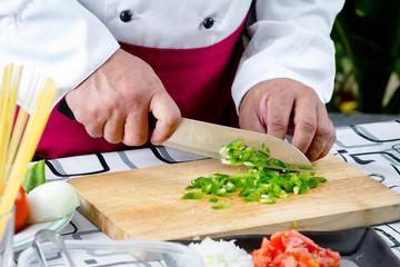 Sliced Green Bell Pepper
