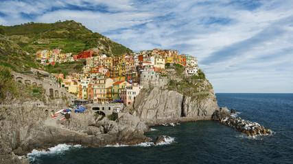 Resort village Manarola, Cinque Terre, Italy