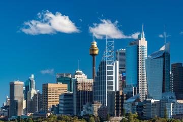 Canvas Prints Sydney Sydney skyline on sunny day