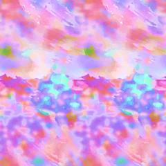 Abstract pink magenta seamless watercolor