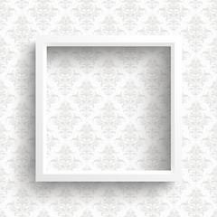 Wall Mural - Frame Ornaments Wallpaper