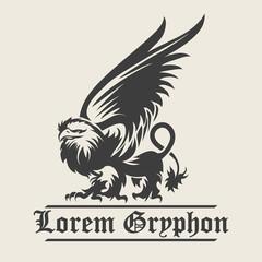 Griffin Engraving Emblem