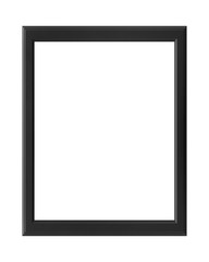 blank frame on a white background with clipping path