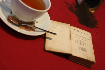 Englischer Tee mit Shakespeare