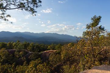 Pai canyon, Thailand