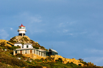 Lighthouse at Cape Point..