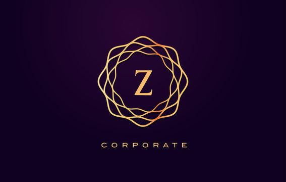 z Luxury Logo. Monogram Letter Design Vector