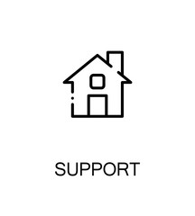 Support and help icon