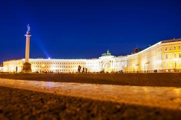 Palace sqare night light
