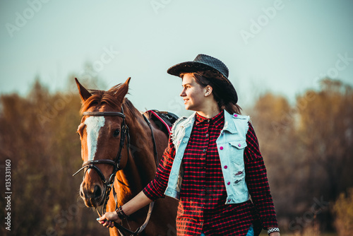 quotcowgirl and horsequot stock photo and royaltyfree images on