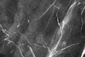 Black and white marble texture background ,High resolution.