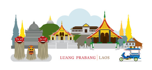 Luang Prabang, Laos, Landmarks, Culture, Travel and Tourist Attraction