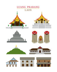 Luang Prabang, Laos, Landmarks Objects, Culture, Travel and Tourist Attraction