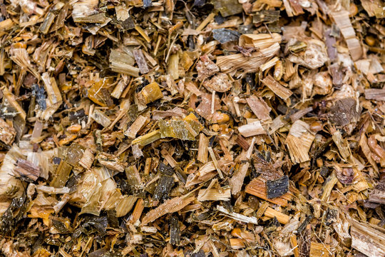 raw material used for the production of biogas