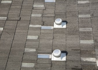 Roof with Roof Ventilator